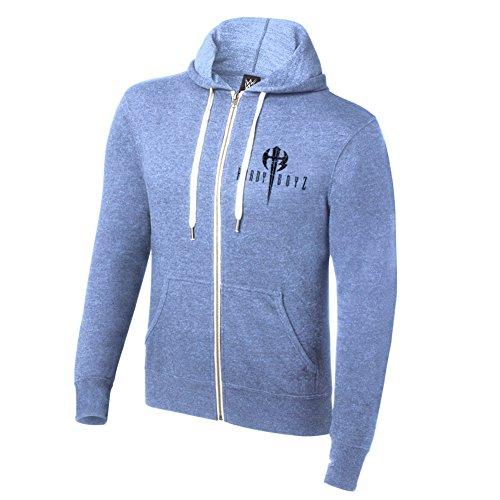 WWE The Hardy Boyz Reborn by Fate Lightweight Hoodie Sweatshirt Light Blue XL by WWE Authentic Wear