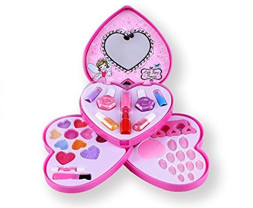 Tokia Makeup Toddler Princess Brushes