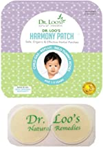 Dr. Loo's NATURAL REMEDIES Organic Herbal Sticker Patches for Colic, Reflux,
