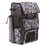 #3: Boombah Superpack Bat Pack -Backpack Version (no wheels) - Holds 2 Bats - Stealth Camo Series - 8 Color Options - For Baseball or Softball