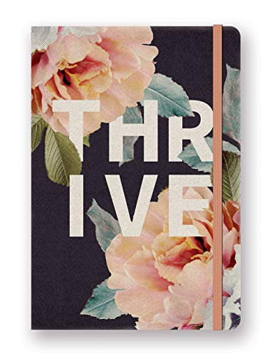 (Studio Oh! Hardcover Compact Deconstructed Journal Available in 5 Designs, Floral Expressions THRIVE)