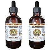 Pot Marigold Liquid Extract, Organic Pot Marigold (Calendula Officinalis) Tincture 2x4 oz