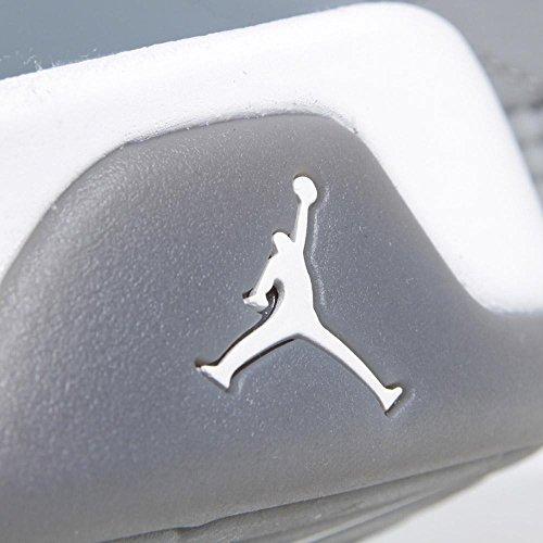 Mens Air Jordan 9 retro di pallacanestro Grigio Medio / Bianco / Cool Grey 302.370-015 Size 13