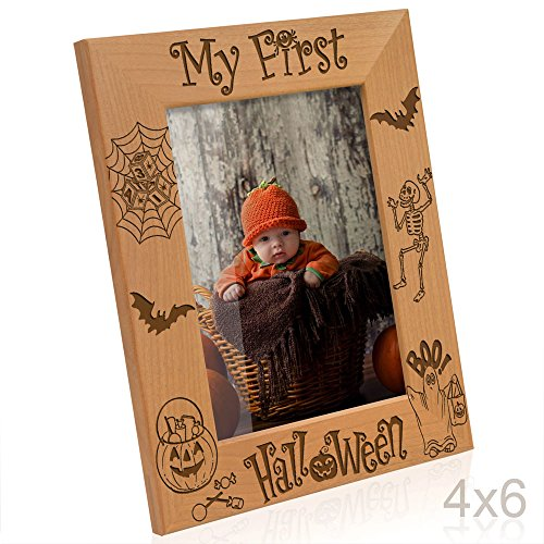 Kate Posh - My First Halloween Picture Frame (4x6 (Halloween My Photo)