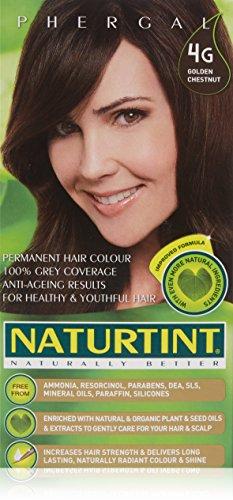 4G, Golden Chestnut Naturtint Permanent Hair Color (Naturtint Hair 4g)