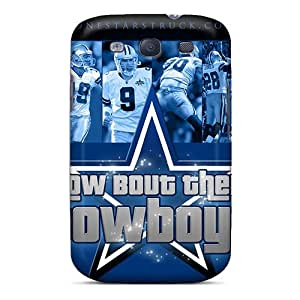 New Style GRleal Hard Case Cover For Galaxy S3- Dallas Cowboys