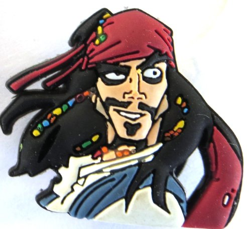 Jibbitz By Crocs Disney Pirates of the Caribbean Jack Sparrow