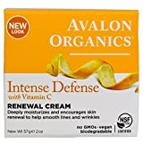 Avalon Organics Vitamin C Renewal Facial Cream 2 oz (Pack of 8)