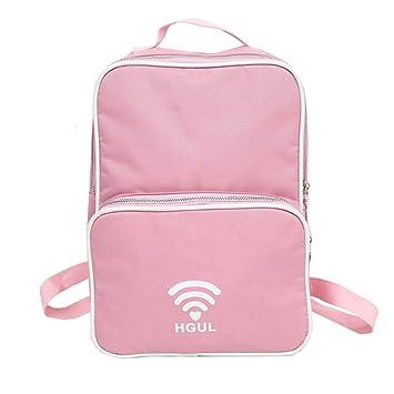 FENICAL - Mochila para niñas, Mochila para Escuela Japonesa, Mochila para Escuela para niños y Camping (Rosa): Amazon.es: Hogar