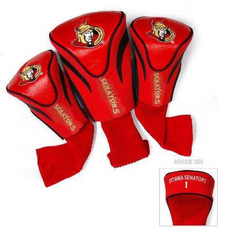NHL Ottawa Senators 3 Pack Contour Head (Ottawa Senators Hockey Socks)