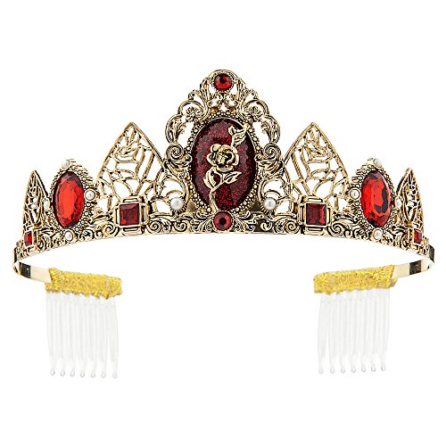 Disney Belle Tiara for Kids (Storybook Belle Costume)