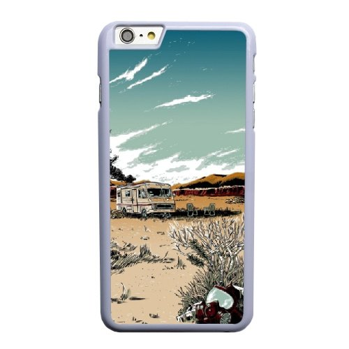Coque,Apple Coque iphone 6 6S plus (5.5 pouce) Case Coque, Generic Breaking Bad Art Prints Cover Case Cover for Coque iphone 6 6S plus (5.5 pouce) blanc Hard Plastic Phone Case Cover