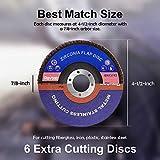 """Rovtop 20 Flap Discs,4-1/2"""" x 7/8"""" T29 Zirconia"""