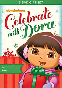 Dora the Explorer: Dora Celebrates Three-Pack (Dora's Christmas / Dora's Halloween / Dora's Big Birthday Adventure)