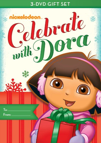 Dora the Explorer: Dora Celebrates Three-Pack (Dora's Christmas / Dora's Halloween / Dora's Big Birthday Adventure) -