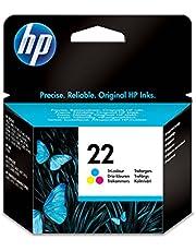 HP C9352AE (22) Mürekkep Kartuş 165 Sayfa, Üç Renkli