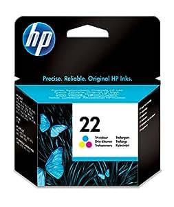 HP 22 - Cartucho de tinta Original HP 22 Tricolor para HP DeskJet 2130, 3630 HP OfficeJet 3830, 4650 HP ENVY 4520
