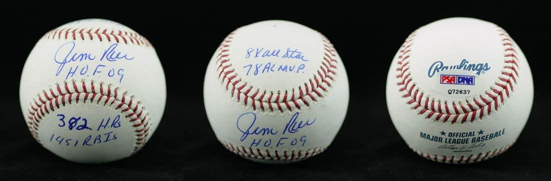 a53c51e9c8a Jim Rice Signed Baseball - ROMLB HOF STAT INSC - PSA DNA Certified - Autographed  Baseballs at Amazon s Sports Collectibles Store