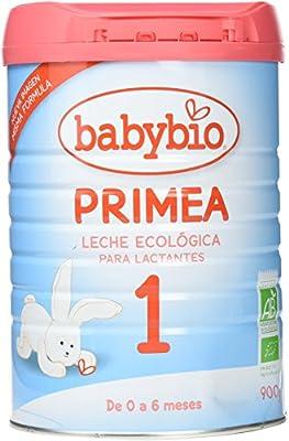 BabyBio - Leche 1 para Lactante Babybio 900 gr 0m+: Amazon.es ...