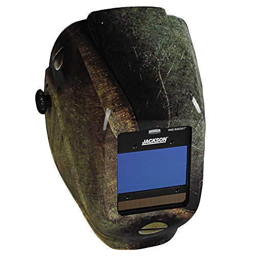 JACKSON SAFETY 46108 Insight Digital Variable ADF Welding Helmet, Halo X, Universal, Metal