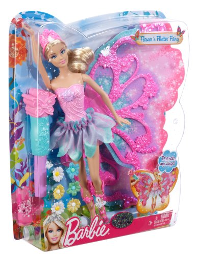 Barbie Flower N Flutter Fairy Barbie Doll Buy Online In
