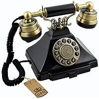 GPO GPODUKB Duke Classic Push Button Telepone Black