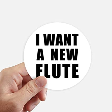 DIYthinker Quiero un Ordenador portátil Nueva Flauta Redondas de 10 cm Maleta Wall Decal Motobike 8pcs