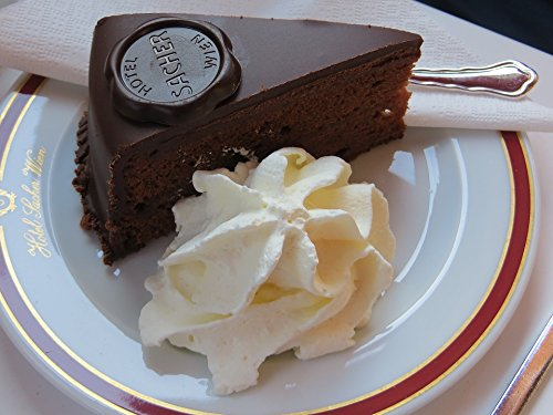 Home Comforts Laminated Poster Cafe Sacher Cake Pastry Shop Candy Cake Vienna Poster Print 24 x 36