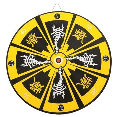 Knife Darts (Oriental Stinger Bullseye Throwing Knife Target Dart Board)