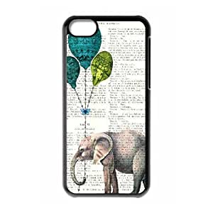 Elephant Use Your Own Image Phone Case for Iphone 5C,customized case cover ygtg525395 by mcsharks