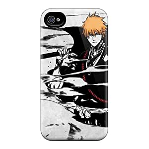 Bumper Hard Cell-phone Case For iphone 6 4.7 With Customized Trendy Bleach Kurosaki Ichigo Anime Series SherriFakhry