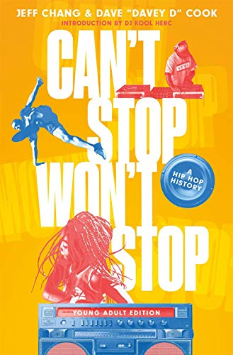 Book Cover: Can't Stop Won't Stop