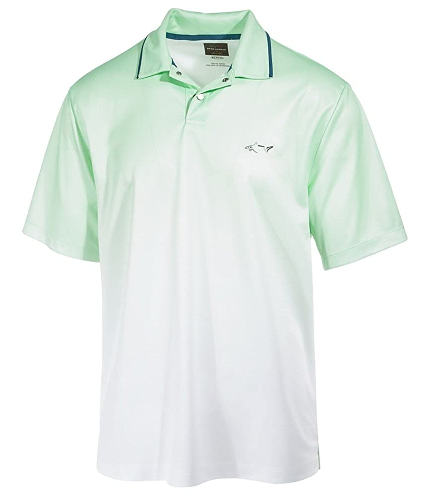 Greg Norman Mens Performance Dip-Dye Rugby Polo Shirt