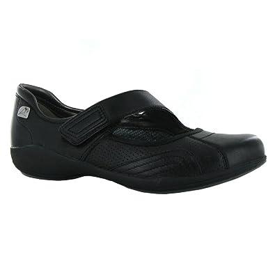 9ba8bb4a Clarks Indigo Bar Black Leather Womens Shoes Size 3 UK: Amazon.co.uk ...