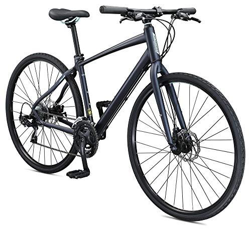 - Schwinn Vantage F3 Women's 700c Sport Hybrid Road Bike with Flat Bar and Disc Brakes, 45cm/Small Frame, Matte Blue