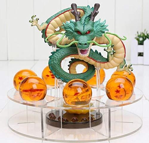 MWC Figura Dragon Shenron PVC Dragon Ball Z 7 Bolas de Dragon 3,5 cm diametro Estante Expositor DBZ Figuras acci/ón Juguetes Goku Dragon Ball Super Espectacular Akira
