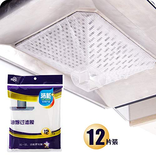 VCB BRAND Clean Cooking Nonwoven Range Hood Grease Filter Pollution Filter Filter Paper - White