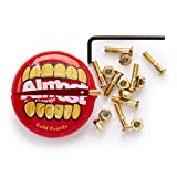 Almost Gold Nuts And Bolts In Your Mouth Hardware - 7/8''