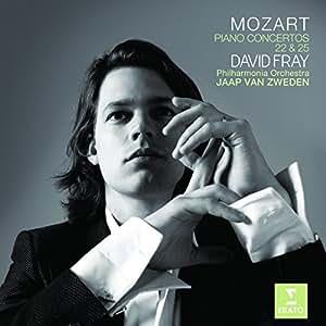 Mozart: Piano Concertos Nos. 22 & 25 ~ Fray / van Zweden