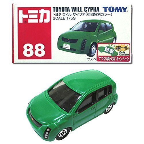 [Tomica 088] (formerly Van obsolete) (1/59) Toyota Will cipher (First Press Limited color) TOYOTA WiLL CYPHA Tommy TOMY (Le Toy Van Jungle)