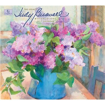 2017 Judy Buswell Watercolors Wall Calendar - Legacy {jg} Great Holiday Gift Ideas - for mom, dad, sister, brother, grandparents, gay, lgbtq, grandchildren, grandma.