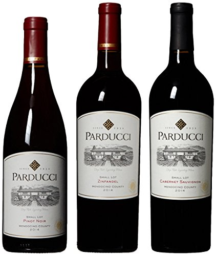 Parducci Best of Mendocino Red Wine Mixed 3 Pack 3 x 750 mL