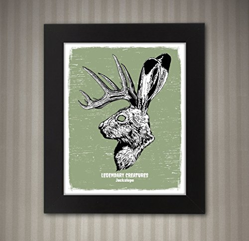 Jackalope - Legendary Creatures Art - 8x10 for sale  Delivered anywhere in USA