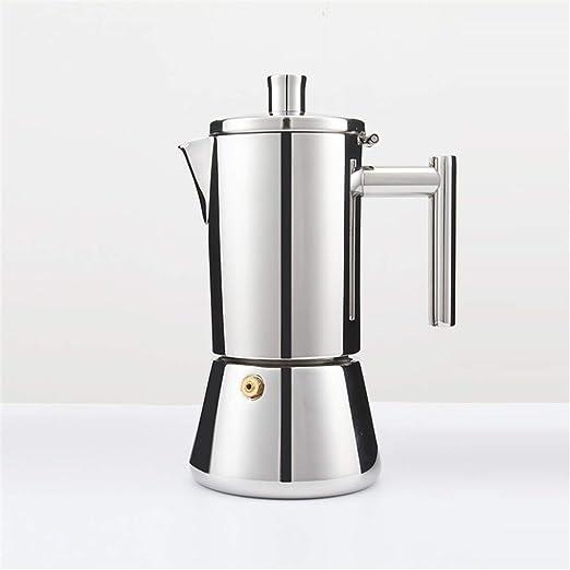 HEYU-Moka - Cafetera Italiana de Acero Inoxidable de Grado de ...