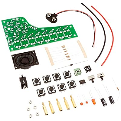 Electronic Piano Soldering Kit (Intermediate Level) by Electronix Express: Toys & Games