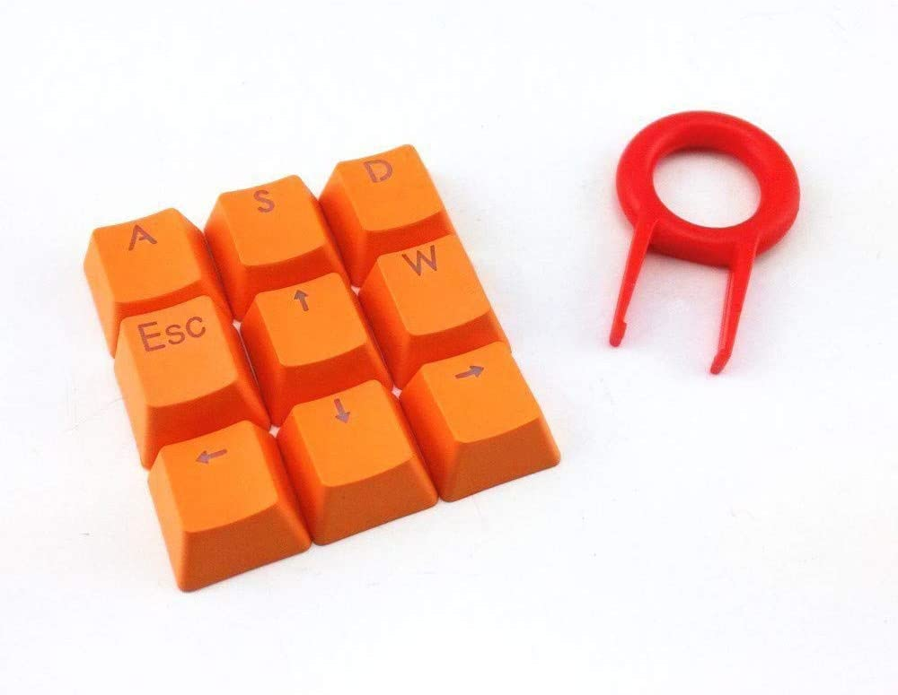 Amazon.com: Amaping Double Shot PBT Keycaps Set - 9 Translucent ...