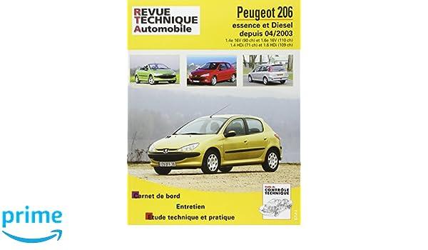 Rta 694.2 Peugeot 206 Ess & d 1.4hdi/1.6hdi 04/2004: Amazon.es: Etai: Libros en idiomas extranjeros
