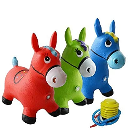 Amazon.com: Mytoy Kids Animal Espacio Hopper caballo ...
