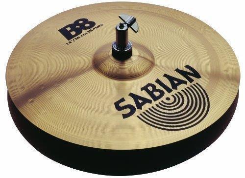 Sabian 14-Inch B8 Hi-Hat Cymbals (Sabian B8 Hi Hat Cymbals)