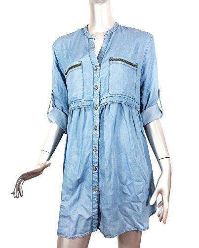 Abito Con 155 Applicazioni Donna Camicia Zara Wta1hwq Pietra 7572 Di g7xBqPg